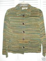 TANTRUM multi colored woven jacket/top sz S - $14.01