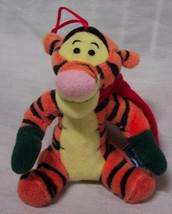 "Winnie the Pooh CHRISTMAS TIGGER W/ MITTENS 4"" Plush STUFFED ANIMAL Orna... - $15.35"