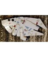 Star Wars Millennium Falcon 3D Decorative Light 3DLightFX Wall Mount No ... - $19.79