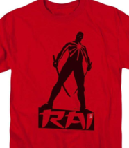 Rai T Shirt Valiant Comics graphic tee Bloodshot X-O Manowar cotton red VAL169 image 2
