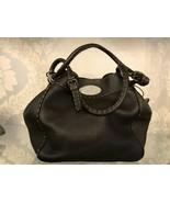 FENDI Dark Brown Pebbled/Textured Leather Hand/Shoulder Bag $1800 - $890.90