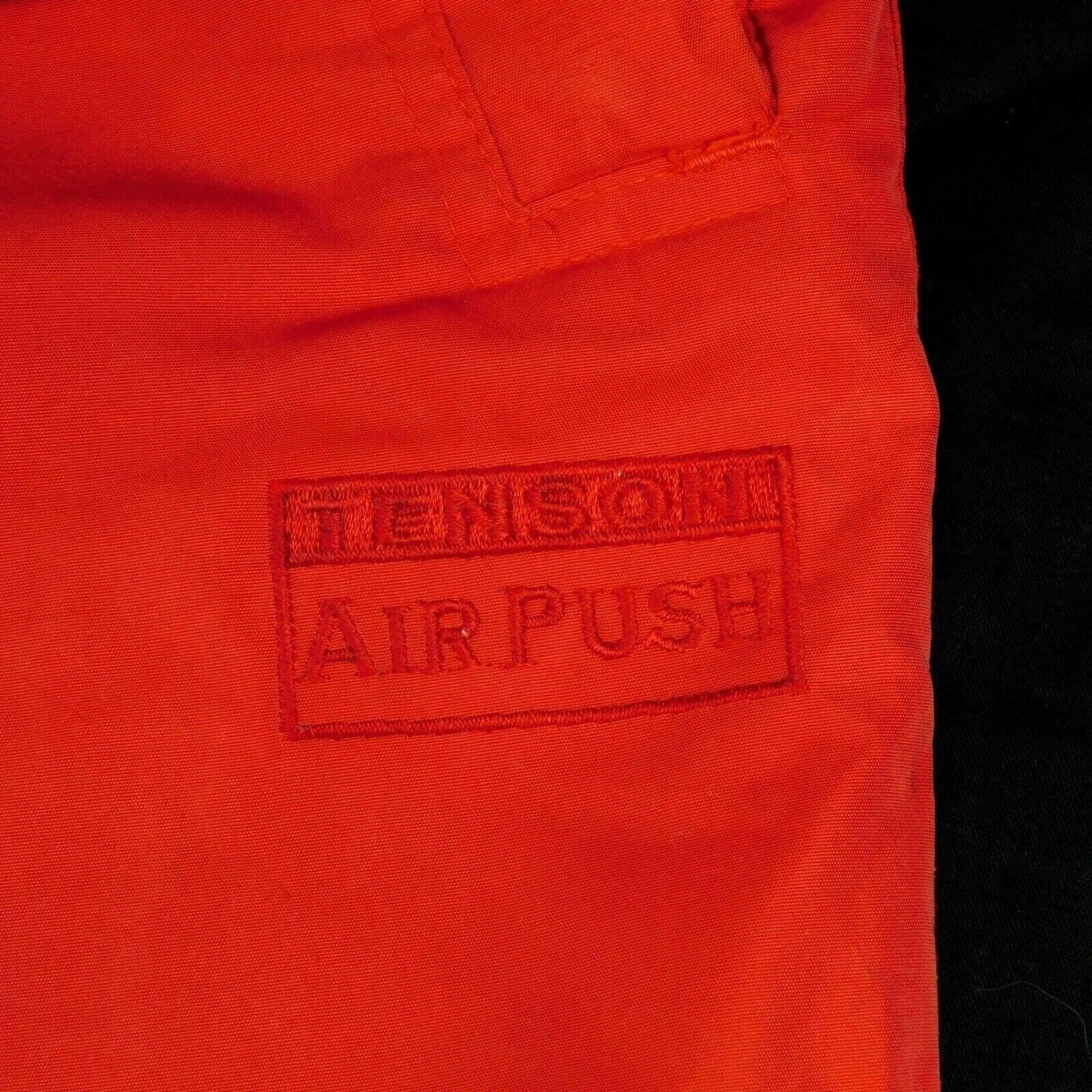 Tenson AirPush Red Ski Pants Sz XL W 34-38 L 33 Elastic Waist Draw String image 5