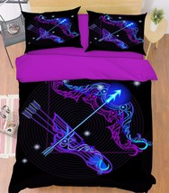 3D Sagittarius 2 Bed Pillowcases Quilt Duvet Cover Set Single Queen King Size AU - $64.32+