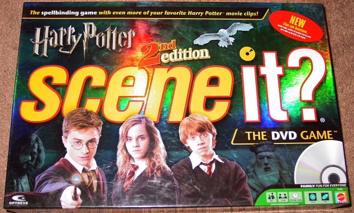 SCENE IT DVD GAME HARRY POTTER 2ND EDITION DELUXE 2007 SCREENLIFE MATTEL COMPLET