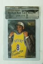 1996-97 Fleer Metal KOBE BRYANT ROOKIE RC Card BGS 9 #137 MINT HOLY GRAIL - $399.99