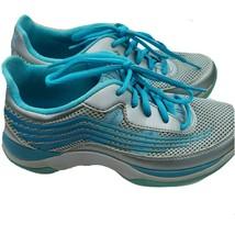 Dansko Womens Blue & Silver Shayla Sneakers Comfort Shoes Size 36 EU 5.5... - $43.25