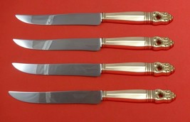 Royal Danish by International Sterling Silver Steak Knife Set Texas Size... - $289.00