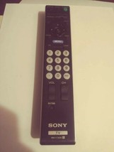 SONY RM-YD025 LCD TV REMOTE - GENUINE - KDL-32L4000 46S4100 37L4000 19M4000 - $11.39