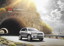 2015 Mitsubishi OUTLANDER SPORT sales brochure catalog 15 US ES SE - $8.00