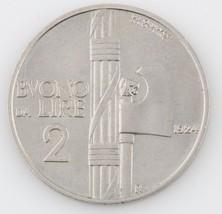 1924 ITALY 2 LIRE ITALIAN HIGH GRADE COIN - $108.90