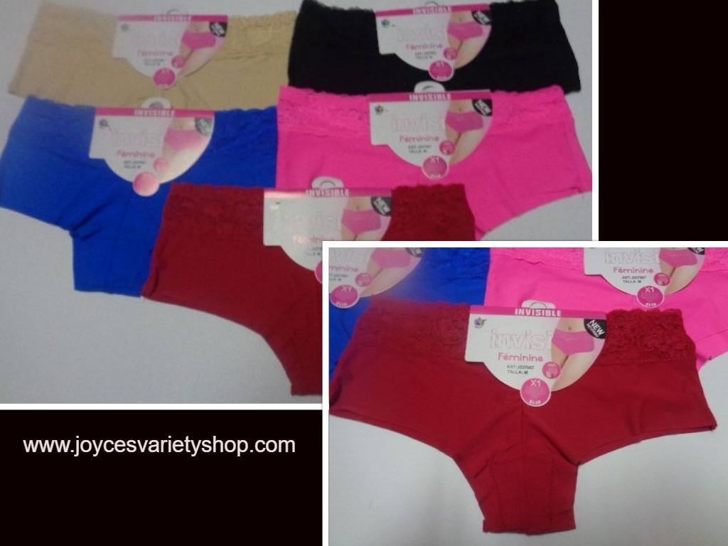 Invisible line panties medium web collage