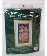 Elsa Williams JCA 6412 Roses and Lilacs Floral Needlepoint Kit Michael L... - $33.65