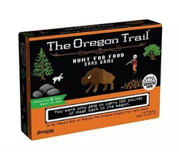 The Oregon Trail Hunt for food card game by Pressman - $14.50