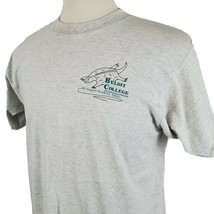Vintage Beloit College Academic Affairs T-Shirt Large Gray 50/50 Single ... - $17.84