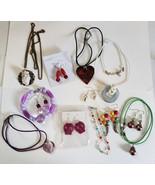 wholesale  jewelry lot necklaces earrings bracelets bead drops pendants ... - $8.99