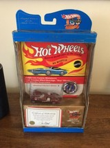 HOT WHEELS 1969 Commemorative Replica TWIN MILL w/ Badge & 30th Annivers... - $13.95