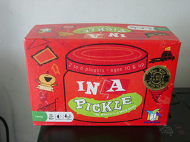 "Card Game ""In a Pickle"" Ages 10+ Cards are sealed - $14.49"