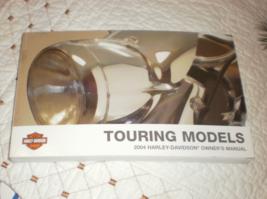 2004 Harley Davidson Owner's Manual Touring Models owners manual  - $34.00
