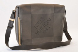 LOUIS VUITTON Damier Geant Messenger Shoulder Bag Terre M93030 LV Auth 7365 - $320.00