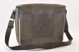 LOUIS VUITTON Damier Geant Messenger Shoulder Bag Terre M93030 LV Auth 7365 - $320.00