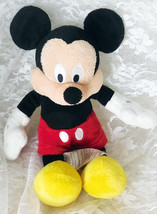 "Disney Store 9"" Mickey Mouse Bean Bag Plush Toy - Clean & Nice! - $9.49"
