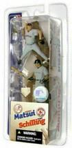 Hideki Matsui NY Yankees Curt Schilling Boston Red Sox McFarlane 2 Pack ... - $24.74
