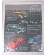 Vintage Nash Automobile Magazine Double Page Ad Advertising - $15.83