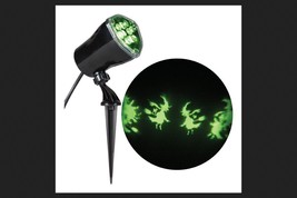 Halloween Whirl-a-Motion Witch Projection Stake Light  - Gemmy - $21.68 CAD