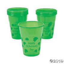 Fun Express St. Patrick's Day 16 oz. Plastic Cups  - $10.36