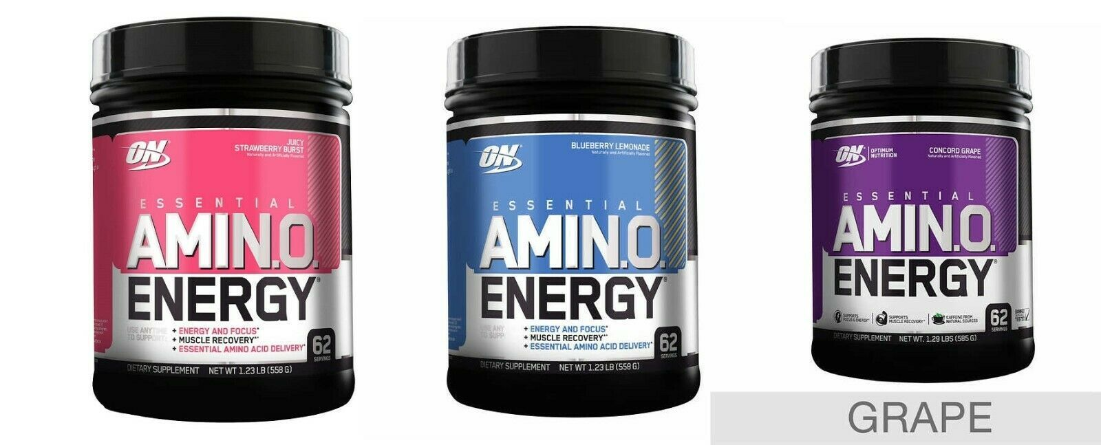 Primary image for Optimum Nutrition Essential Amino Energy, 1.23 lbs