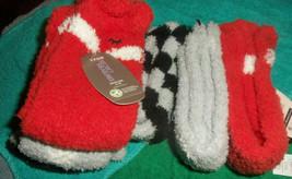 Secret Treasures 3 Pair Crew Cozy Socks Ladies Size 4-10 new - $5.93