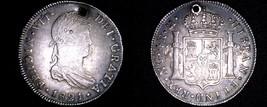 1821 NG Guatemalan 4 Reales World Silver Coin - Guatemala - Ferdinand VI... - $399.99