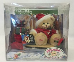 1999 Fisher-Price Briarberry Merry Christmas Berrykris & Sleigh Plush Be... - $29.69