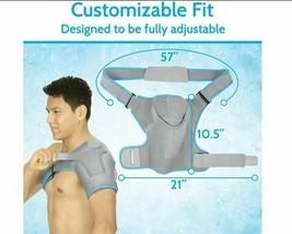 Arctic Flex Shoulder Ice Pack Brace - Cold Reusable Cool Gel Wrap, Hot Therapy image 2