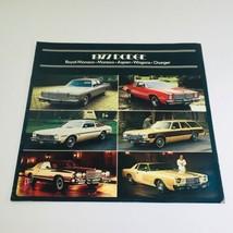 1977 Dodge Royal Monaco-Aspen-Charger Wagon Dealership Car Auto Brochure Catalog - $7.09