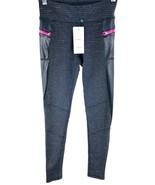 ALALA LEGGINGS Women's XS Extra Small Pants Black Yoga Running Gym Casua... - $42.75