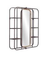 Zuo Alice Home Decorative Modern Shelf Mirror - Gray - $320.00