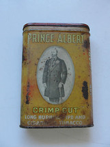 Prince Albert Crimp Cut tobacco tin, advertisin... - $28.60