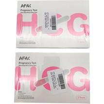 Pregnancy Test 6 Pack - One Step HCG Urine Test - 3 Tests Per Box - $9.68