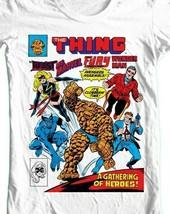 The Thing Wonder Man Beast Ms Marvel Fury comics bronze age cotton graphic tee image 2