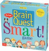 Brain Quest Smart! Game Grades 1-6 Educational Board Game New Open Box - $32.18