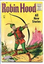 ROBIN HOOD #52 1955-ME-1ST ISSUE-FRANK W BOLLE-ORIGIN-vg minus - $45.40