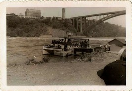 Old Antique Vintage Photograph Maid of the Mist Cruise Boat Ship - $6.93