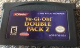 Yu-Gi-Oh Double Pack 2 Nintendo Game Boy Advance + Tested & Working! - $8.99