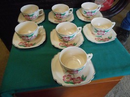 Outstanding Vintage RARE Dinnerware..MUST SEE Unmarked- .Yellow 7 CUPS &... - $36.44