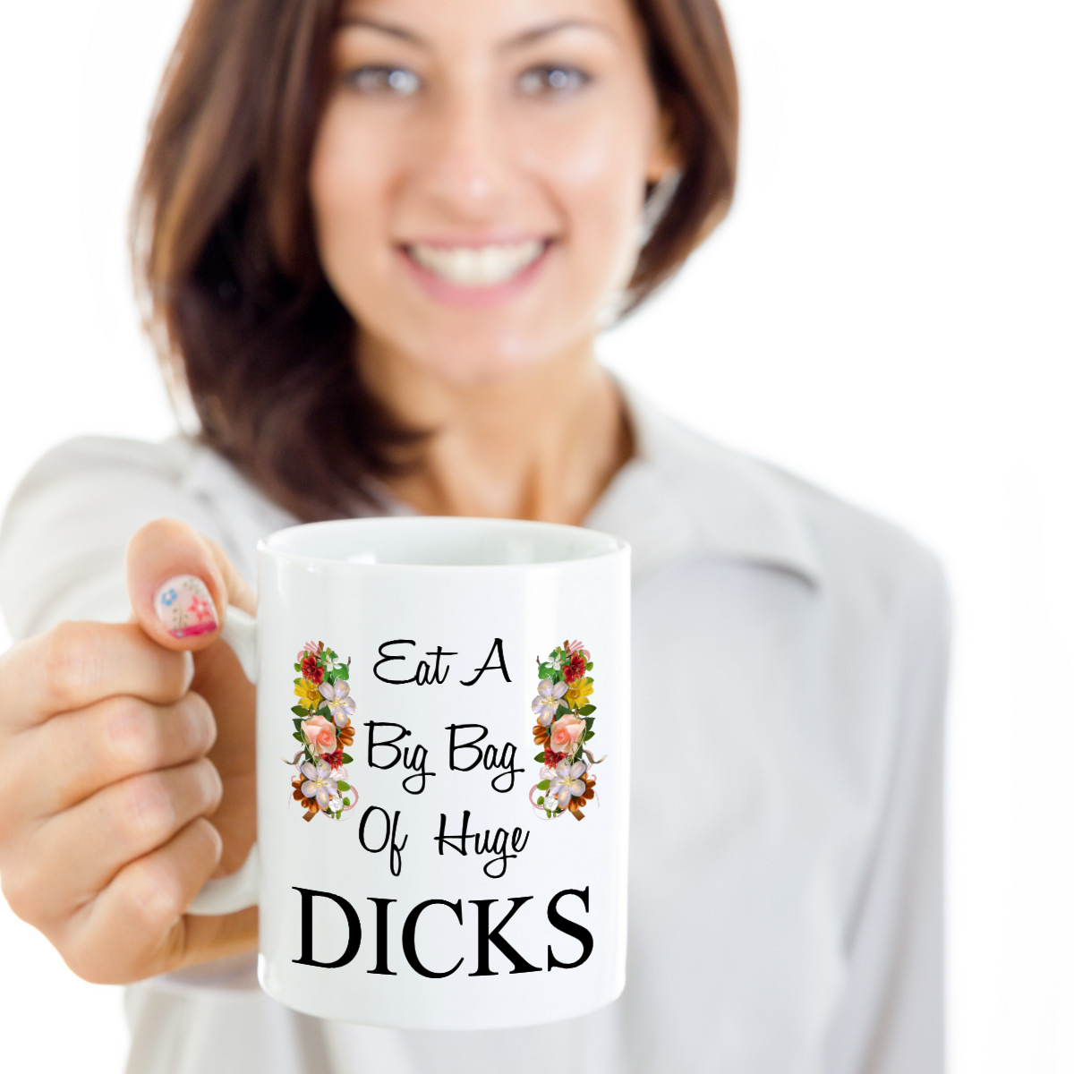 Eat A Bag Of Dicks Funny Christmas Party Sarcastic Gift Gag For Boss Coworker