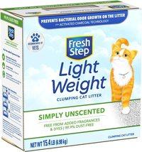 Fresh Step Lightweight Clumping Cat Litter - $19.00