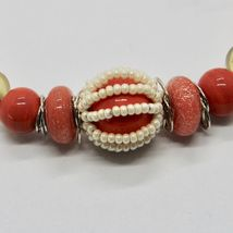 Bracelet Antica Murrina Venezia with Murano Glass Red Coral BR742A25 image 3