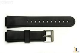15mm Passt Casio Aw-30 Schwarze Gummi-Armbanduhr Band Armband Aw-33 Aw-34 Sw-03 - $10.45