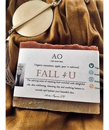"Organically Yours ""Fall 4 U"" Butter Bar Deluxe Handcrafted Seasonal Soap. - $3.60"